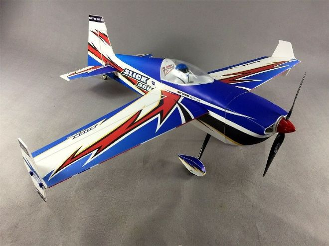 "Skywing 48"" Slick 360 - A in Blue, White and Red"